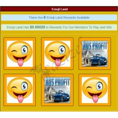 Square Banner PTC Ads With Hidden Title, Reward, Time