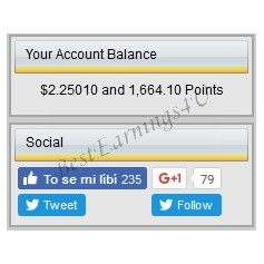 Your Account Balance Block