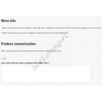 Více Info nad Product Customization